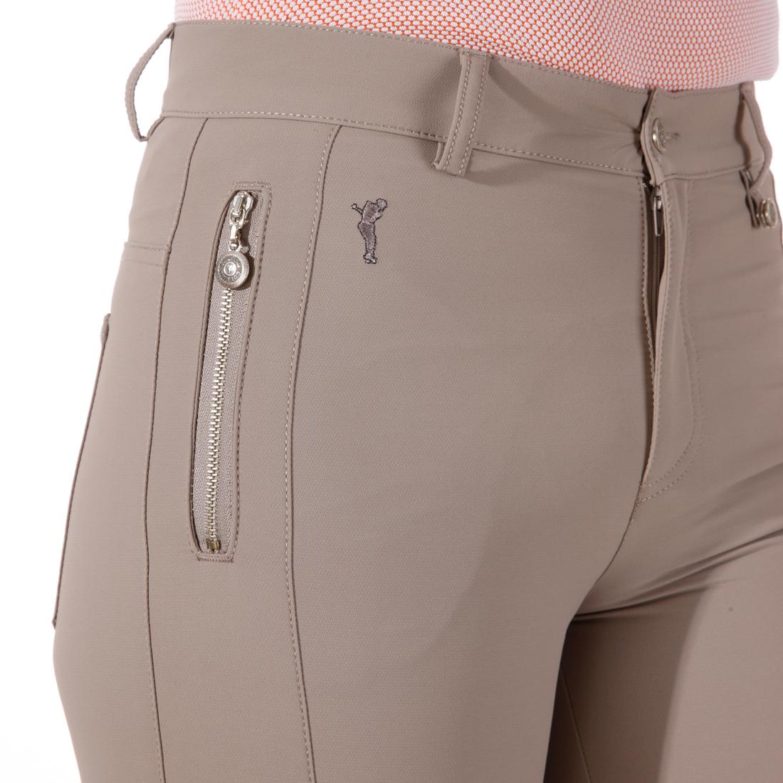 Damen Hose aus gebürstetem 4-Way-Stretchmaterial