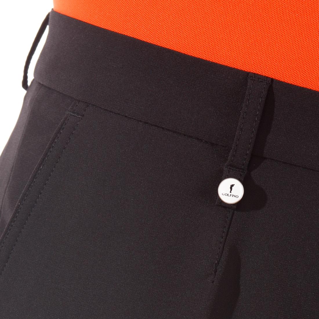 4-Way Stretch-Hose mit gebürsteter Innenseite