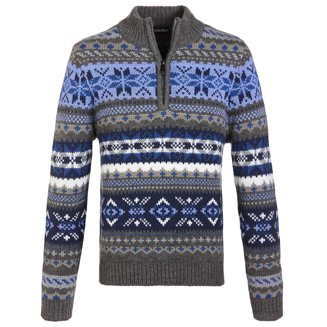 Norweger Pullover Cold Protection für modebewusste Herren