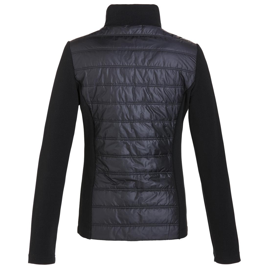 Gesteppte Damen Golfjacke mit Fleece Ärmeln und Cold Protection Funktion