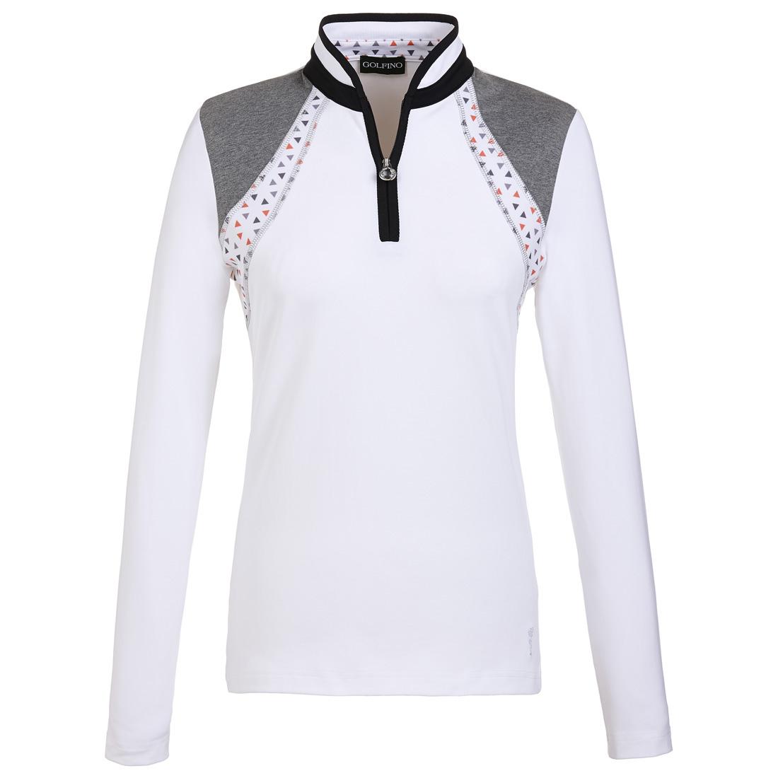 Damen Jersey Golftroyer Dry comfort mit modischem Print
