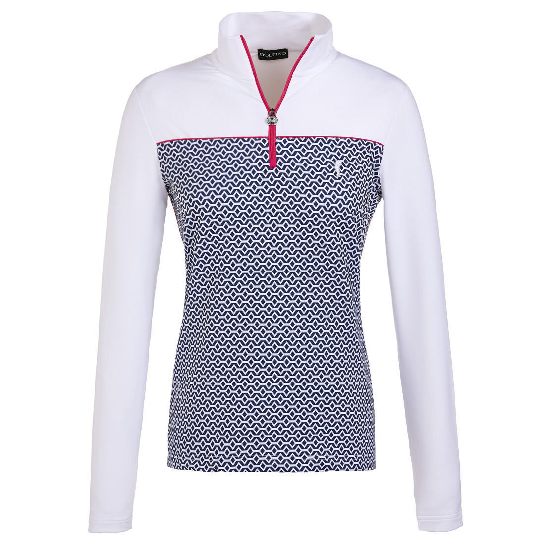 Patterned techno stretch golf underlayer