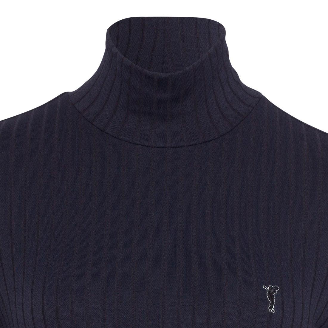 Pullunder donna stretch con collo alto e vestibilità slim con funzione Dry Comfort