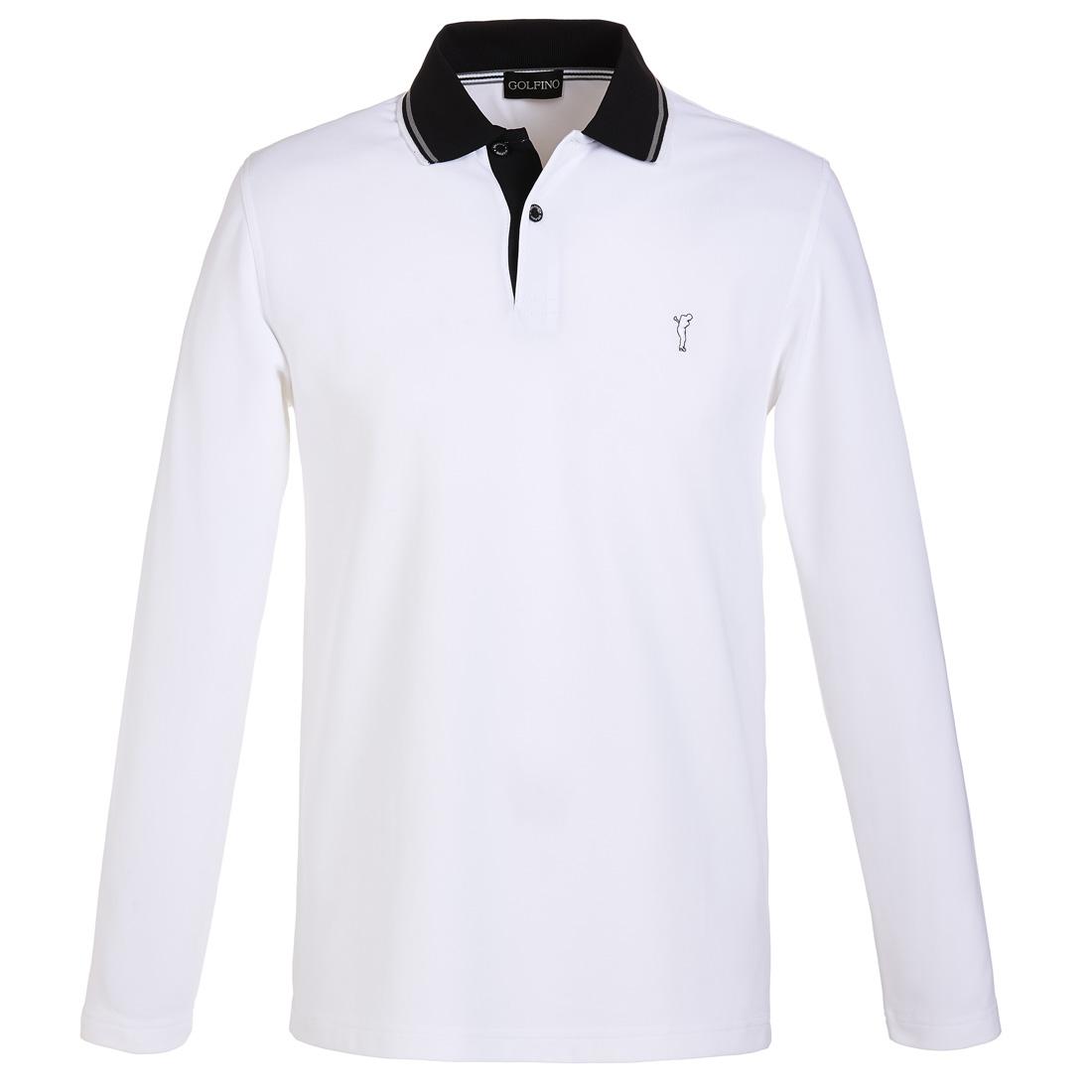 Premium Herren Funktions-Golfpolohemd Sun Protection