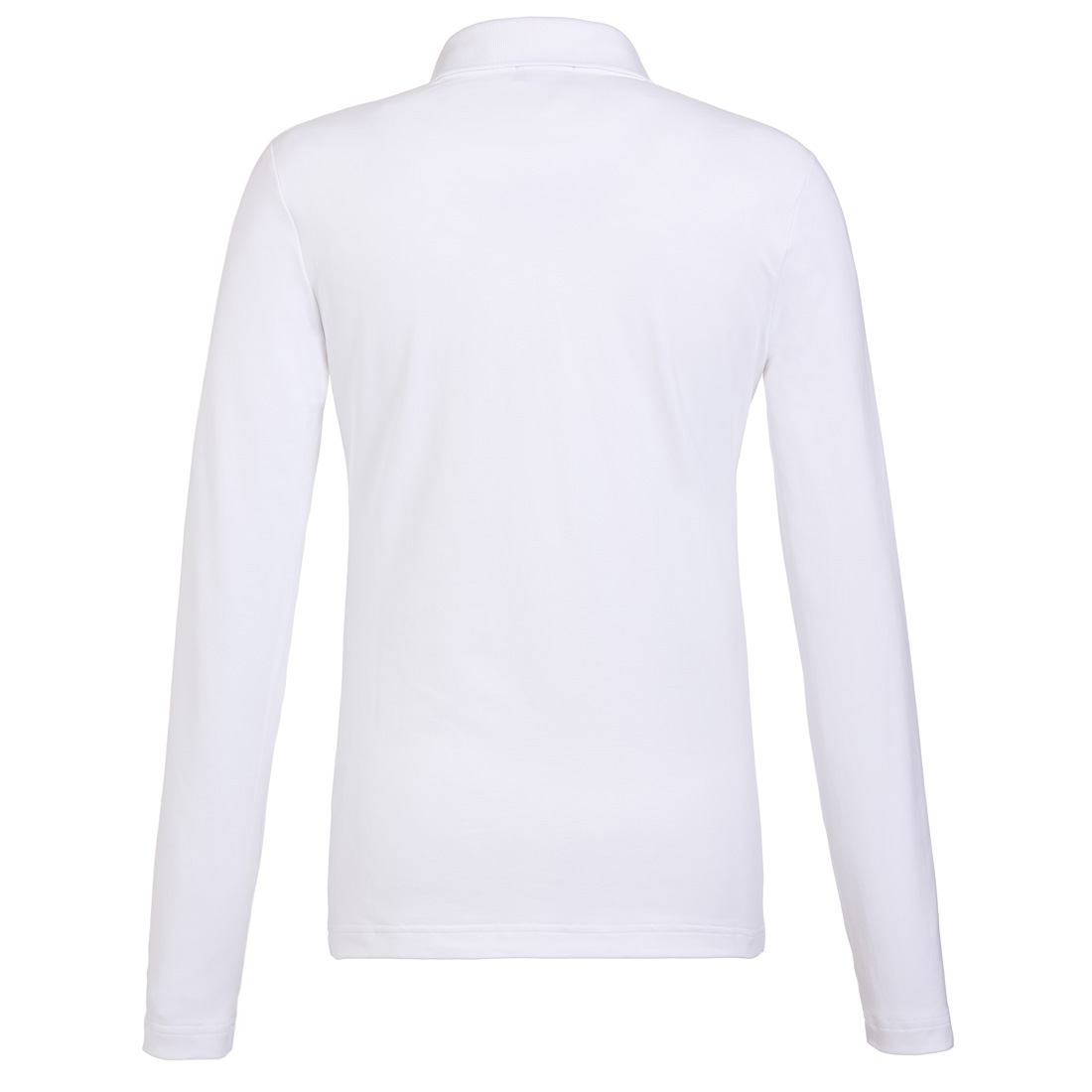 Langarm Golfpolohemd mit Moisture Management und großflächigem Eulen-Print