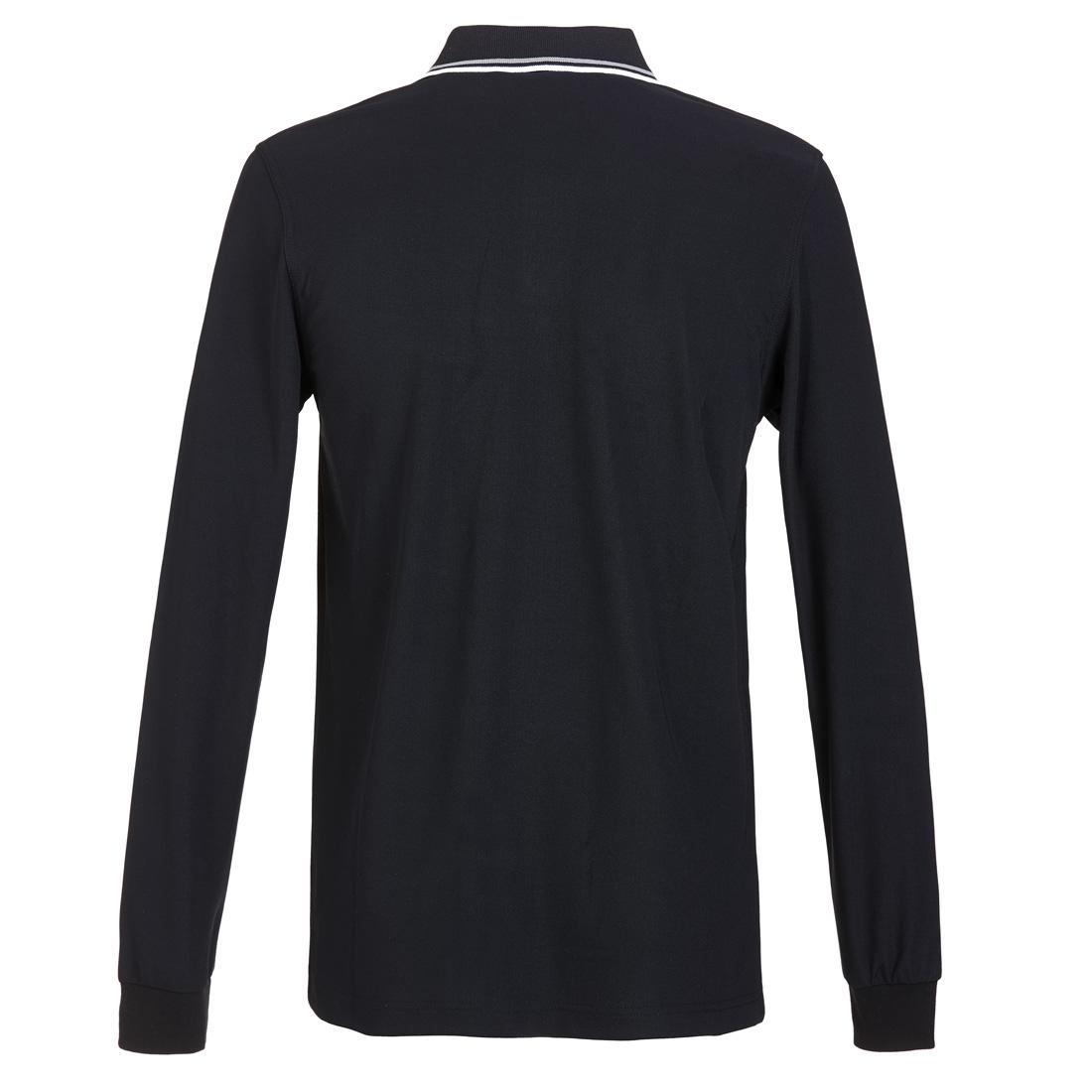 Herren Langarm Funktions-Polohemd Extra Dry