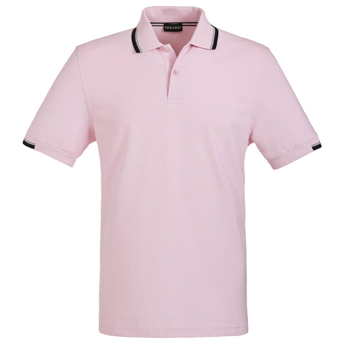 Kurzarm Herren Funktions-Golfpolohemd mit Sun Protection