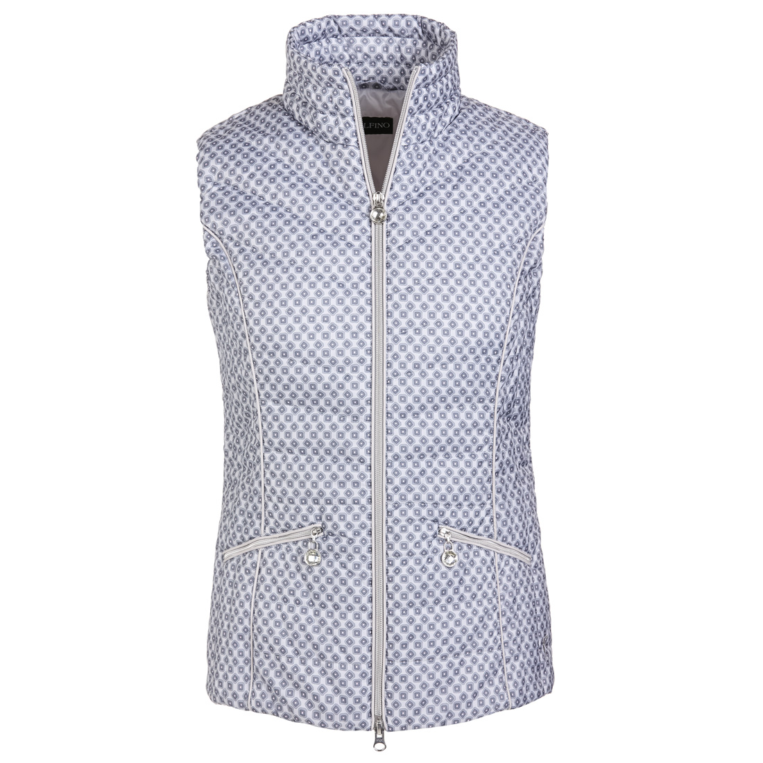 Breathable ladies' Wind Protection golf vest Silver Mountain