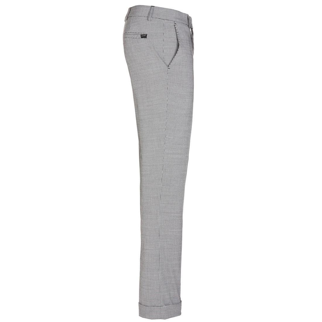 Vichy Stretch-Golfhose in Slim Fit für besten Tragekomfort