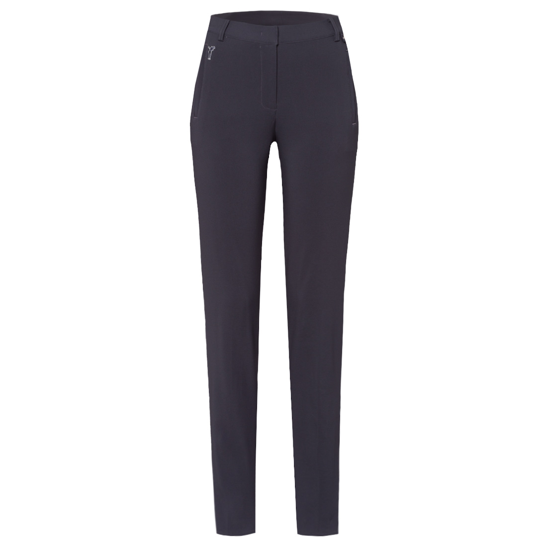 Thermo stretch ladies' golf trousers in slim fit