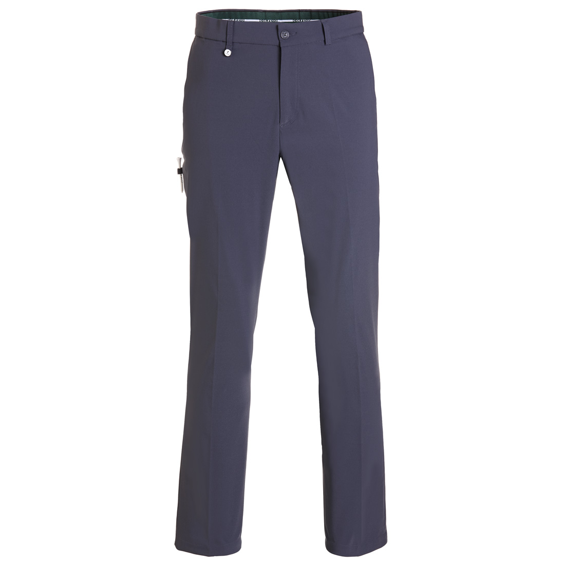 Brushed techno stretch trousers