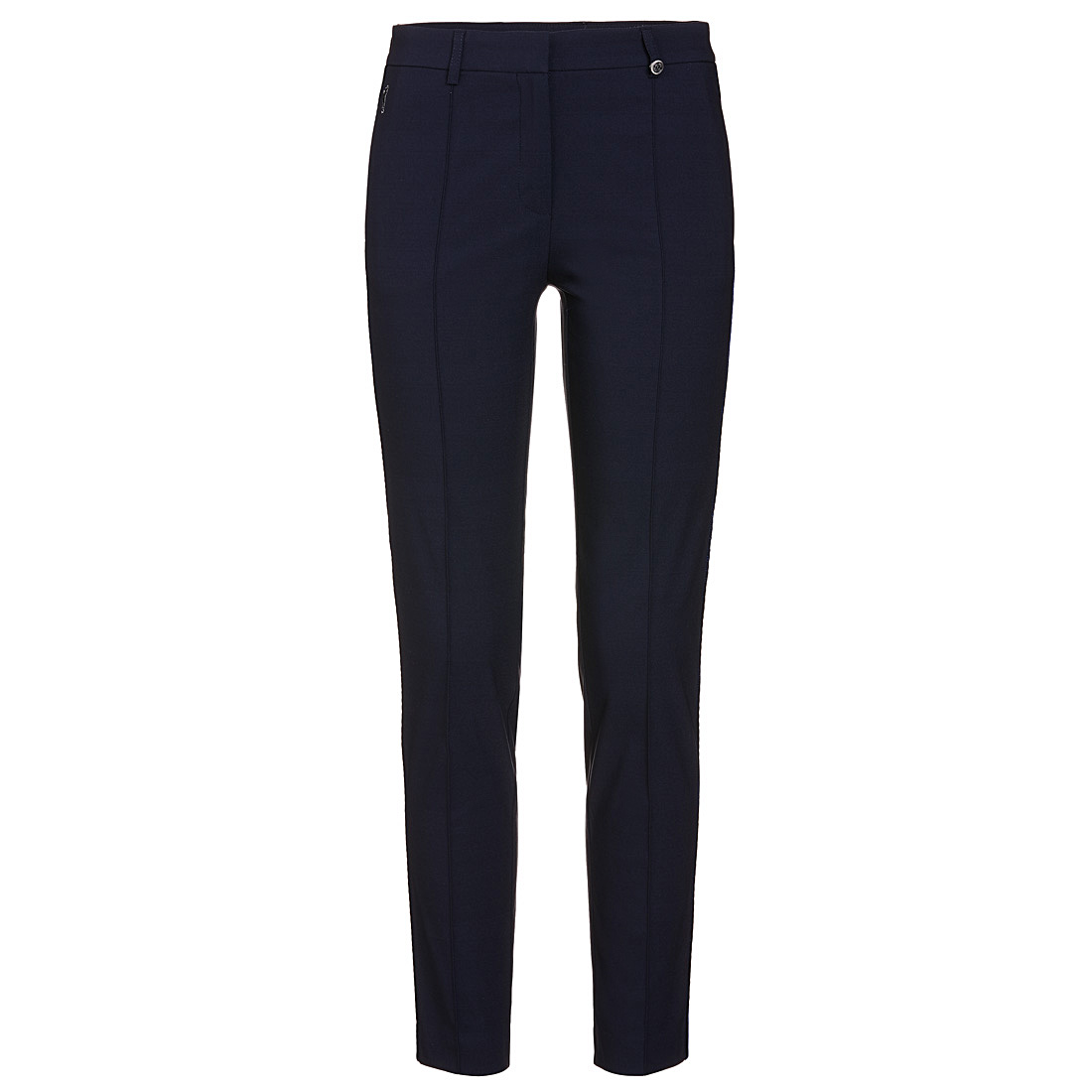 Brushed techno stretch 7/8 trousers