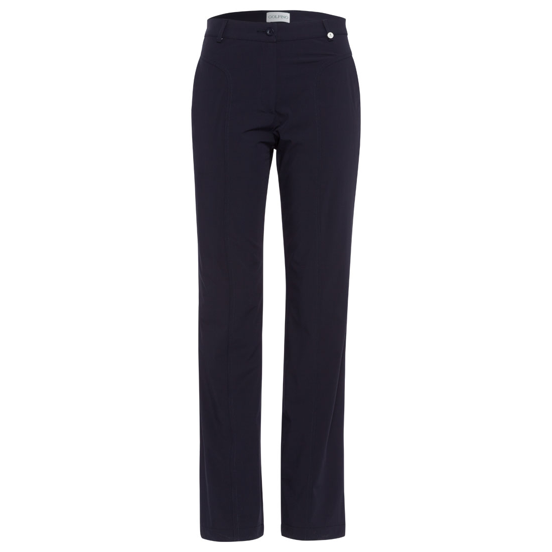 Water-resistant ladies' Thermo Stretch golf trousers in regular fit