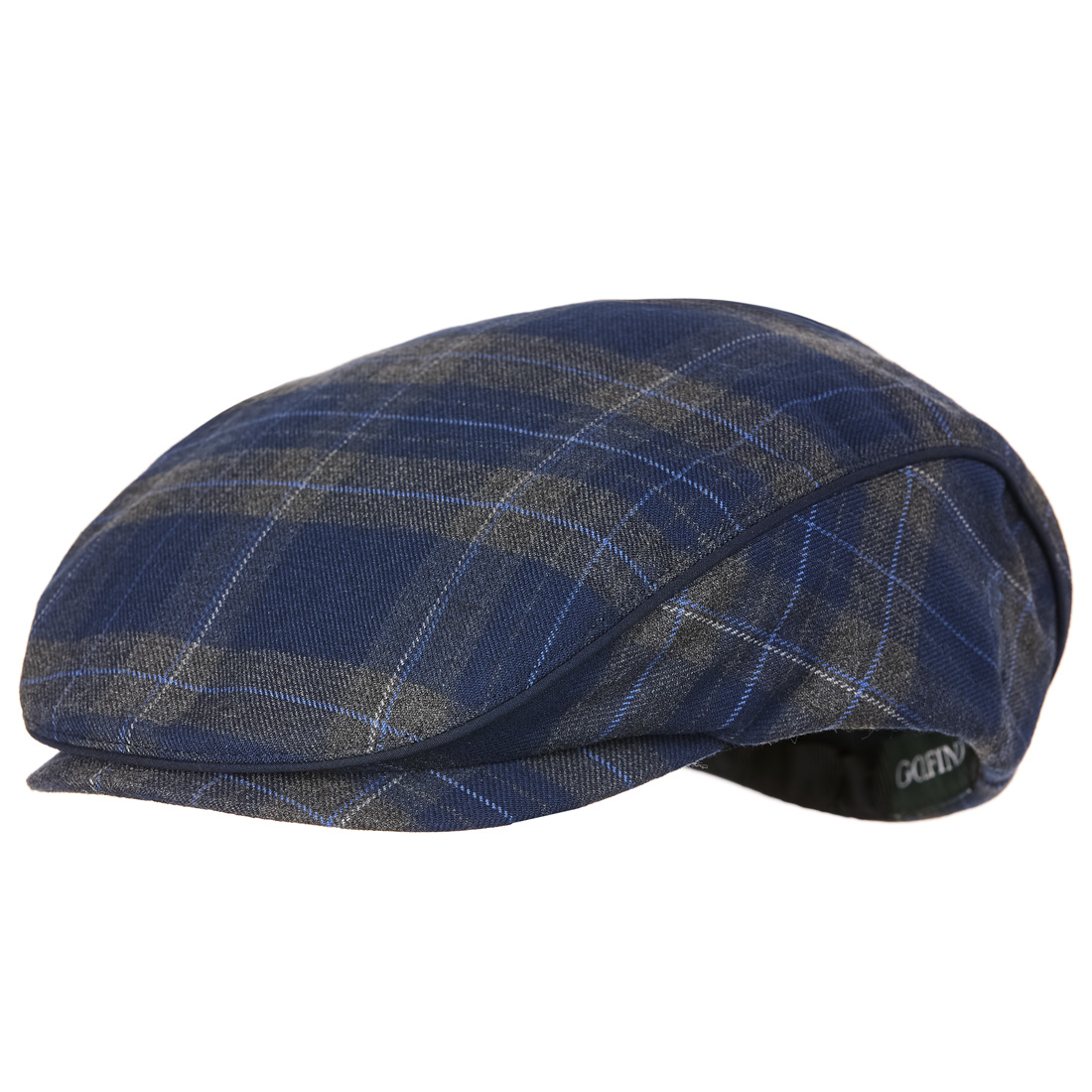 9cb18378d3b GOLFINO Checked cold protection golf cap with soft fleece lining ...