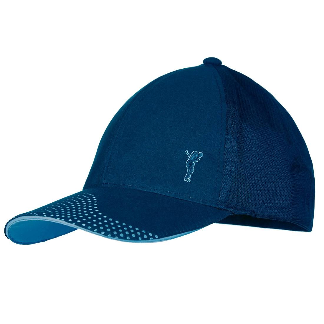 Atmungsaktives Micro Stretch Golfcap mit Mesheinsätzen für hervorragende Ventilation