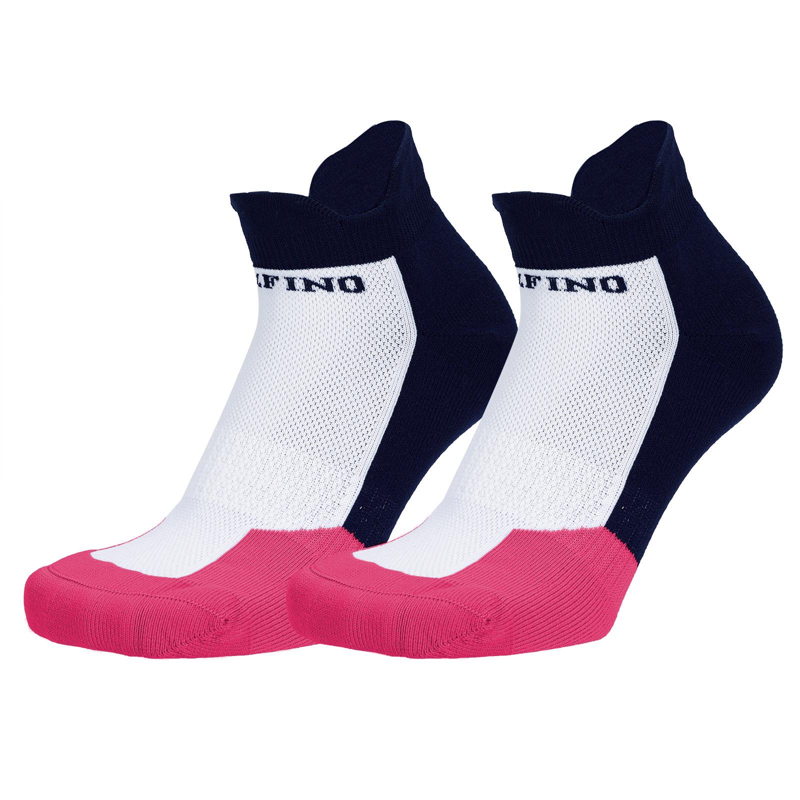 Atmungsaktive Damen Funktions-Golfsocken mit elastischen Bündchen