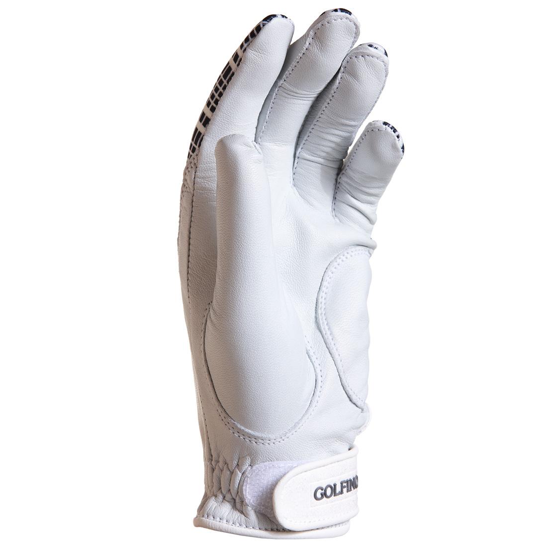 Karierte Golf Handschuhe