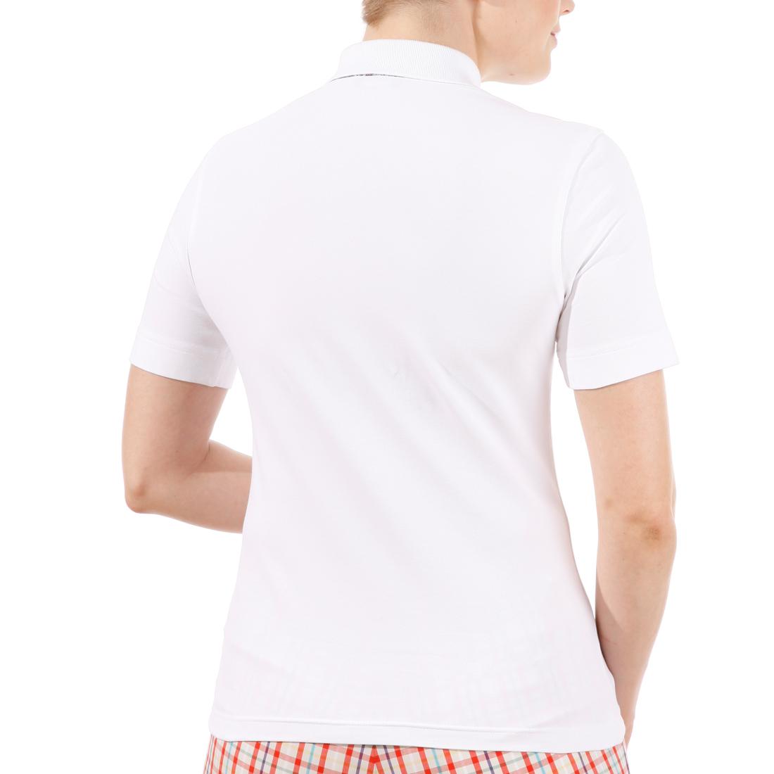 Piqué-Polo mit UV-Schutz