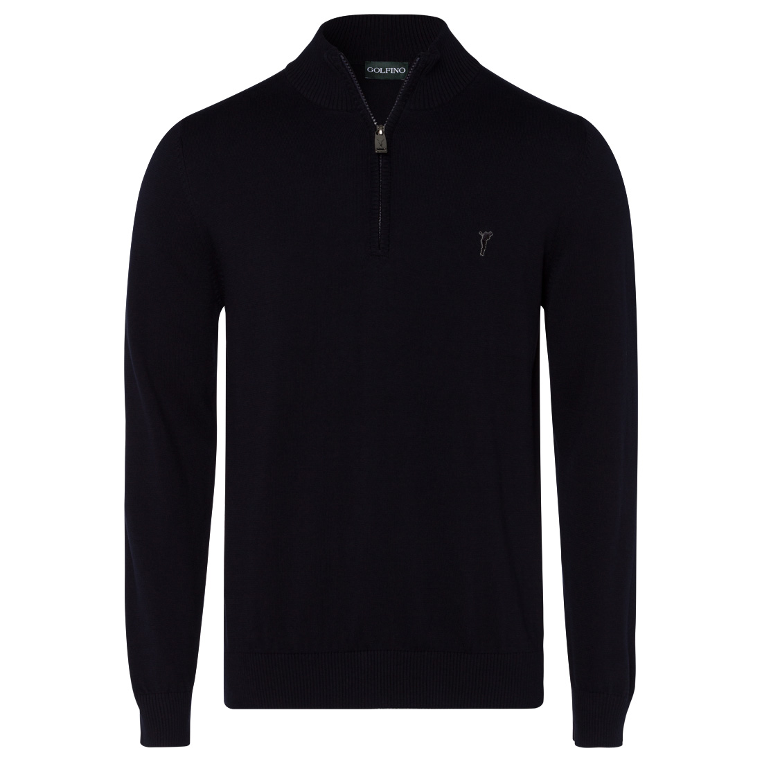 Men's golf sweater in soft cotton