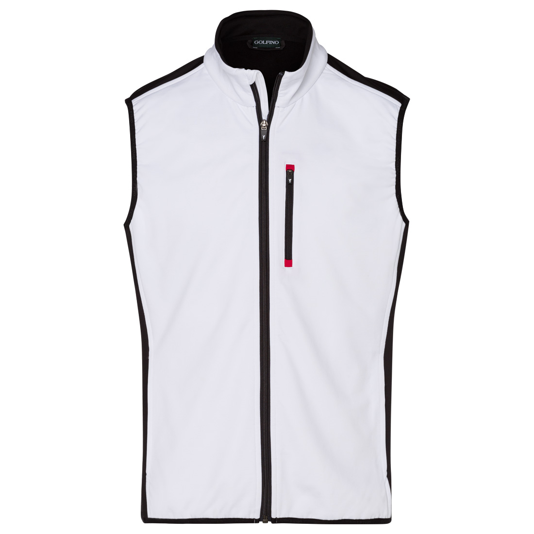 Men's techno stretch gilet for cooler days