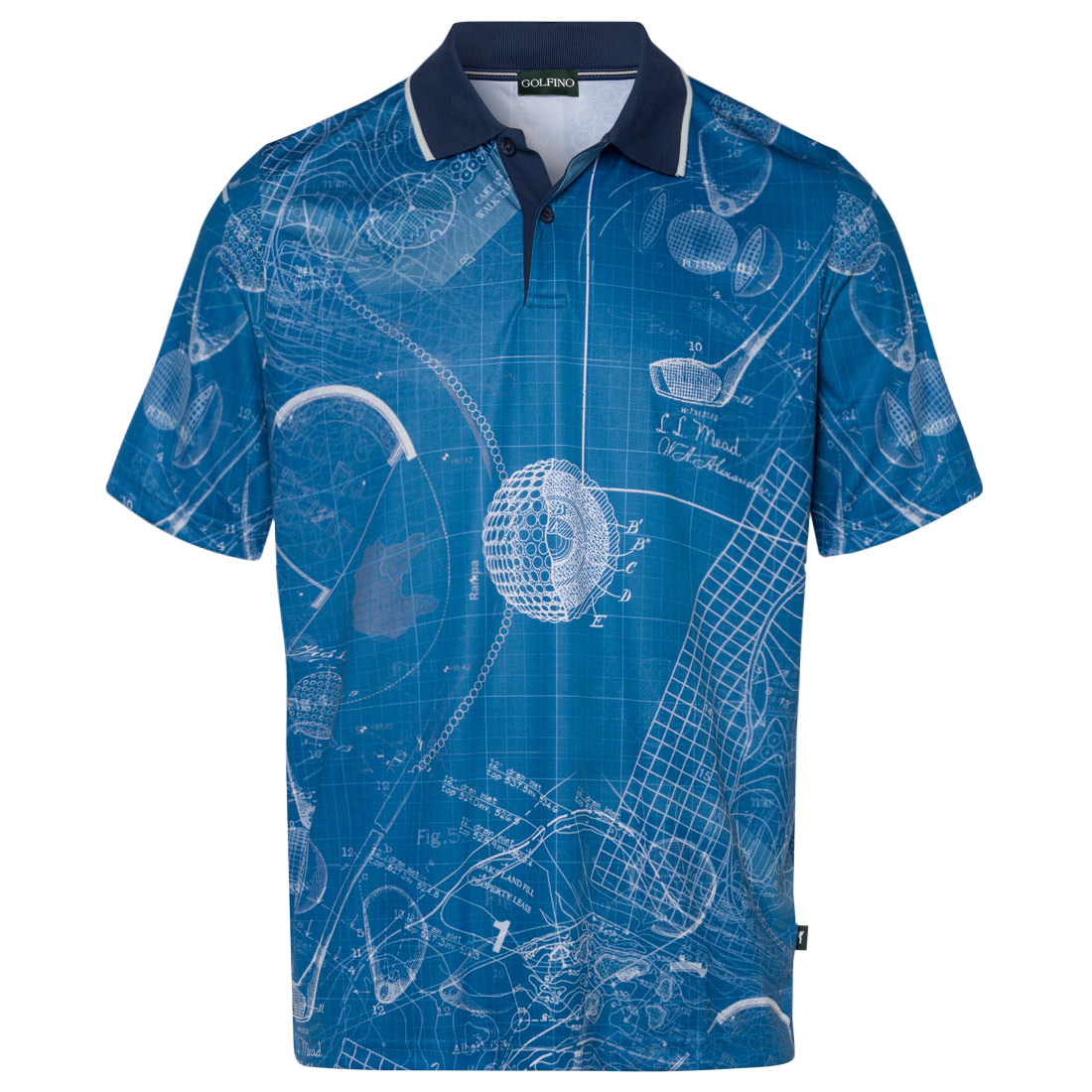 Poloshirt aus leichtem Jerseymaterial