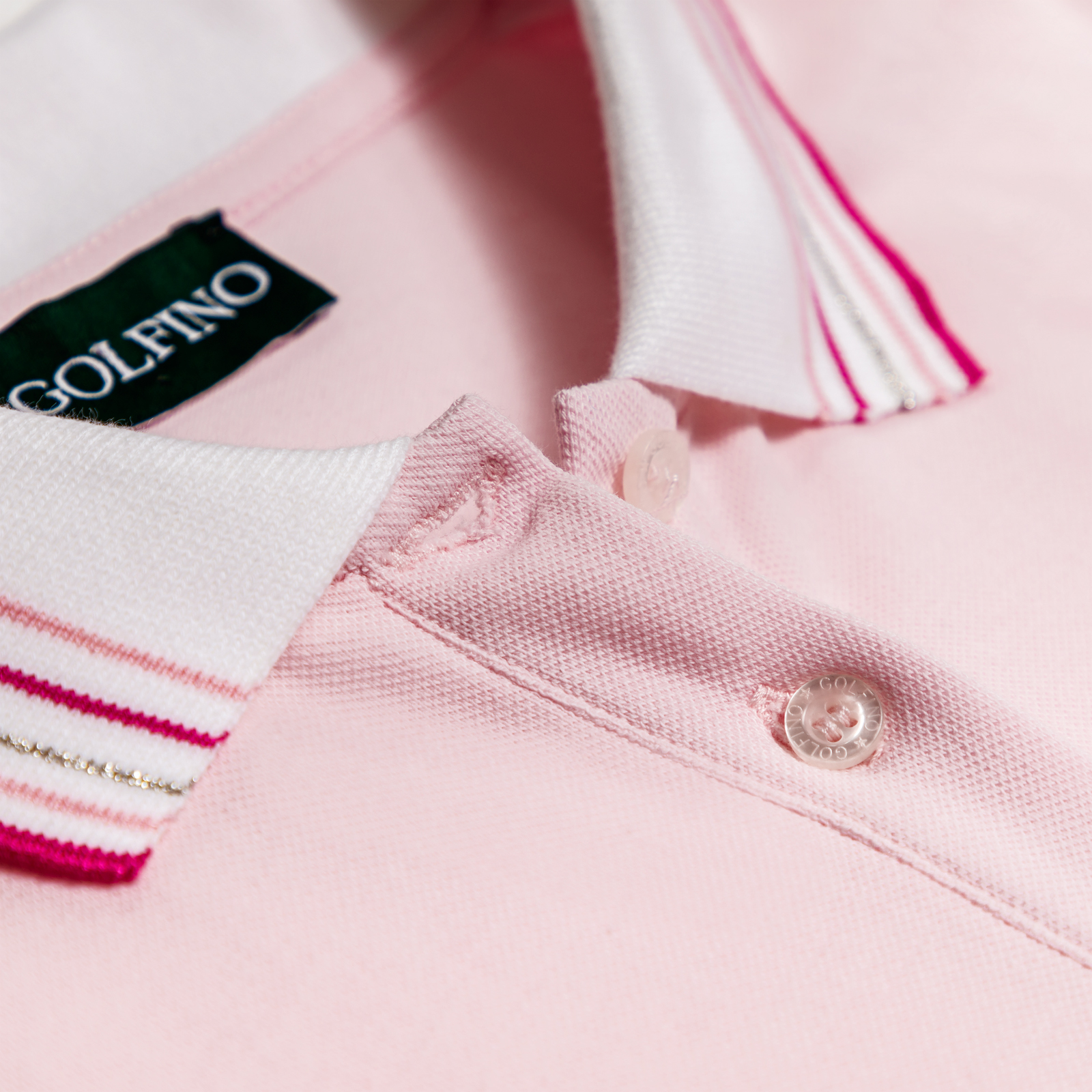 Damen Kurzarm Pique Poloshirt