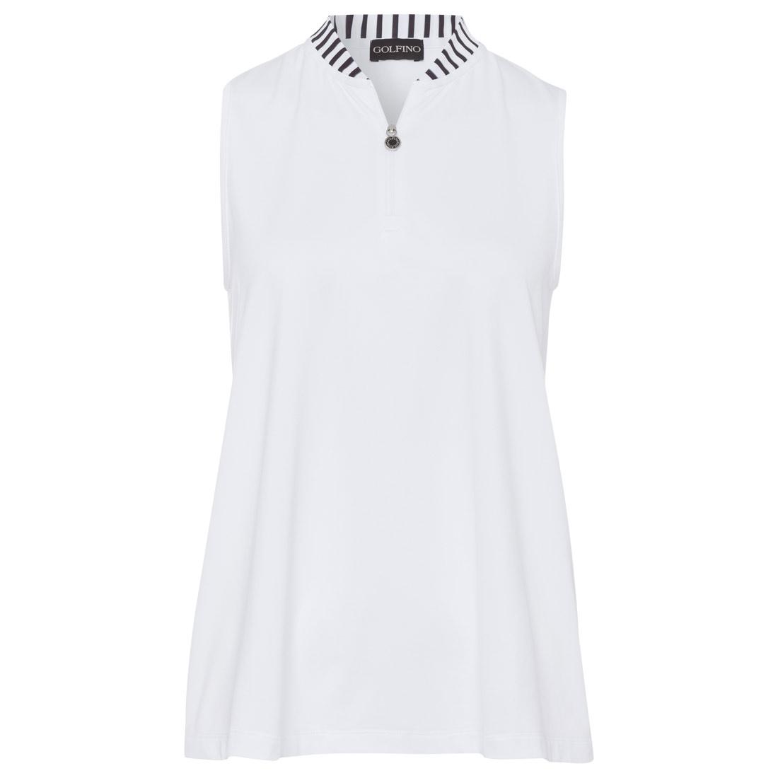 Damen Shirt mit Streifendetails