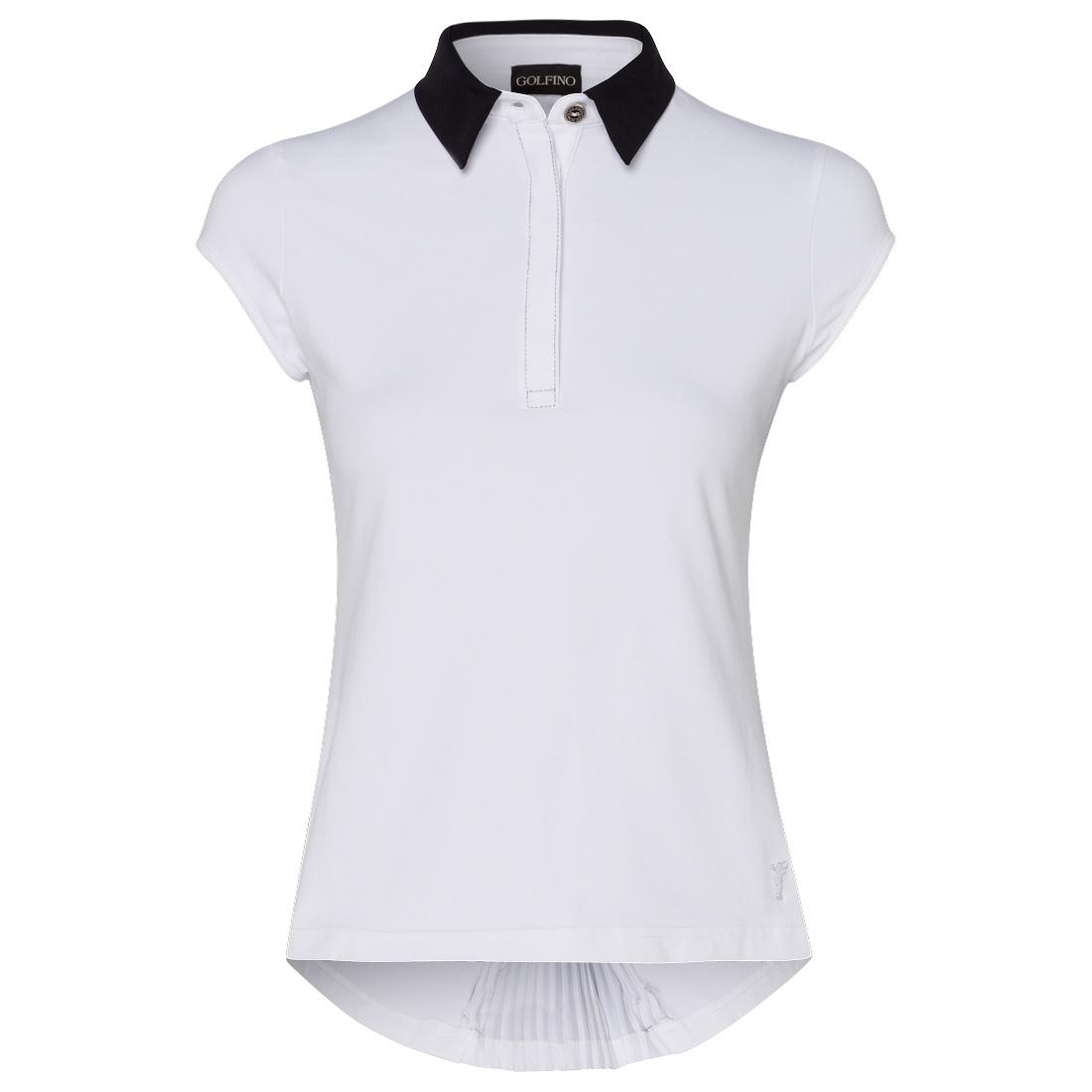 Damen Polo mit Rücken-Zipper