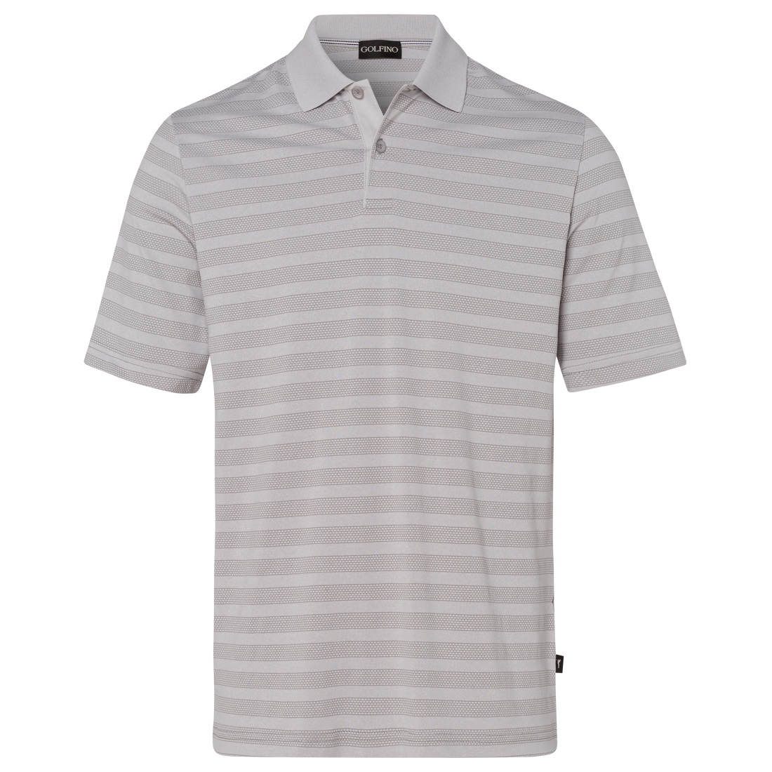 Men's golf polo, pleasantly light and breathable