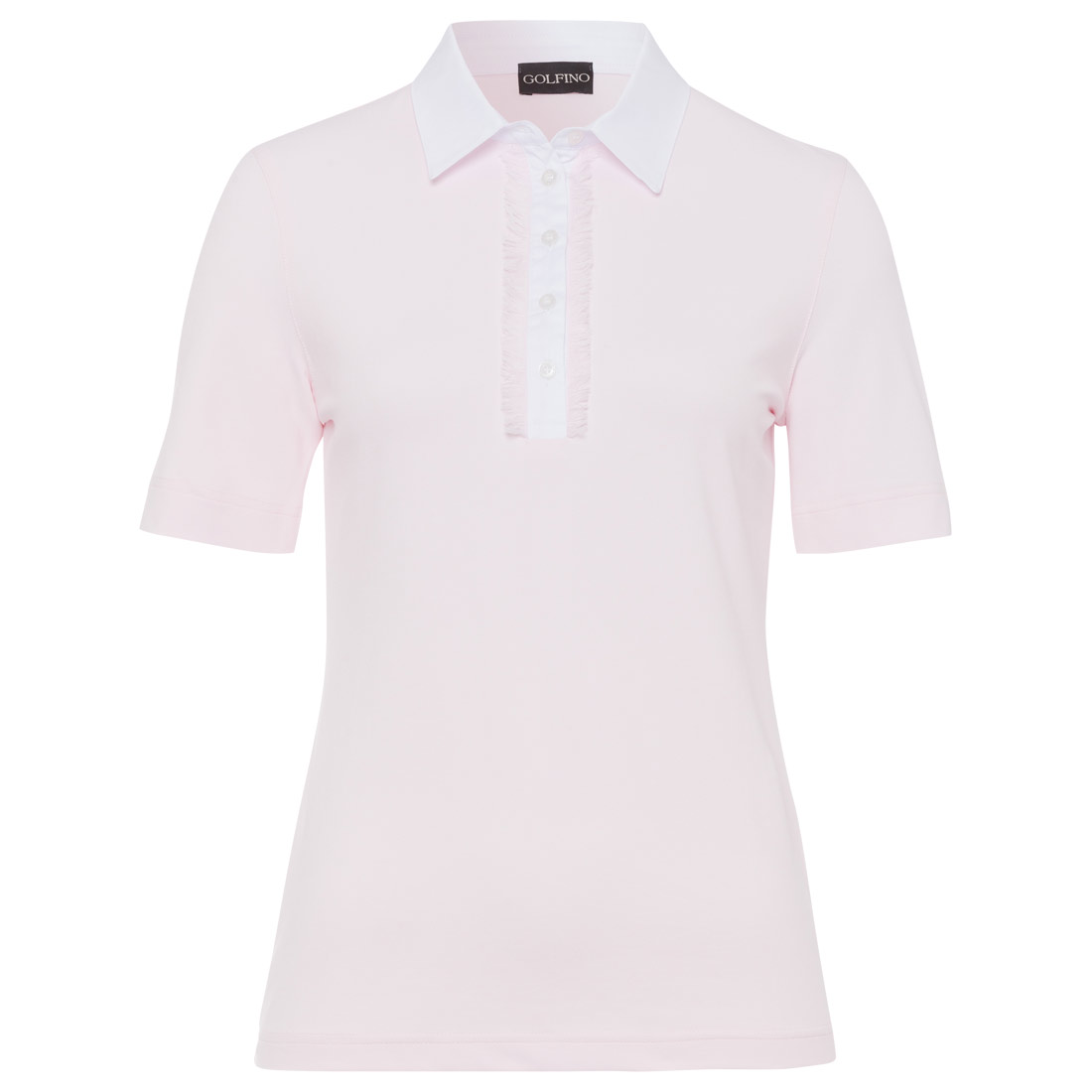 Damen Kurzarm-Polo in weichem Piquet