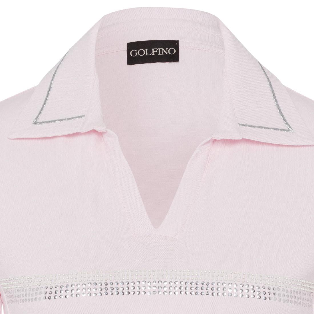 Damen Shirt mit Glitzerdekor