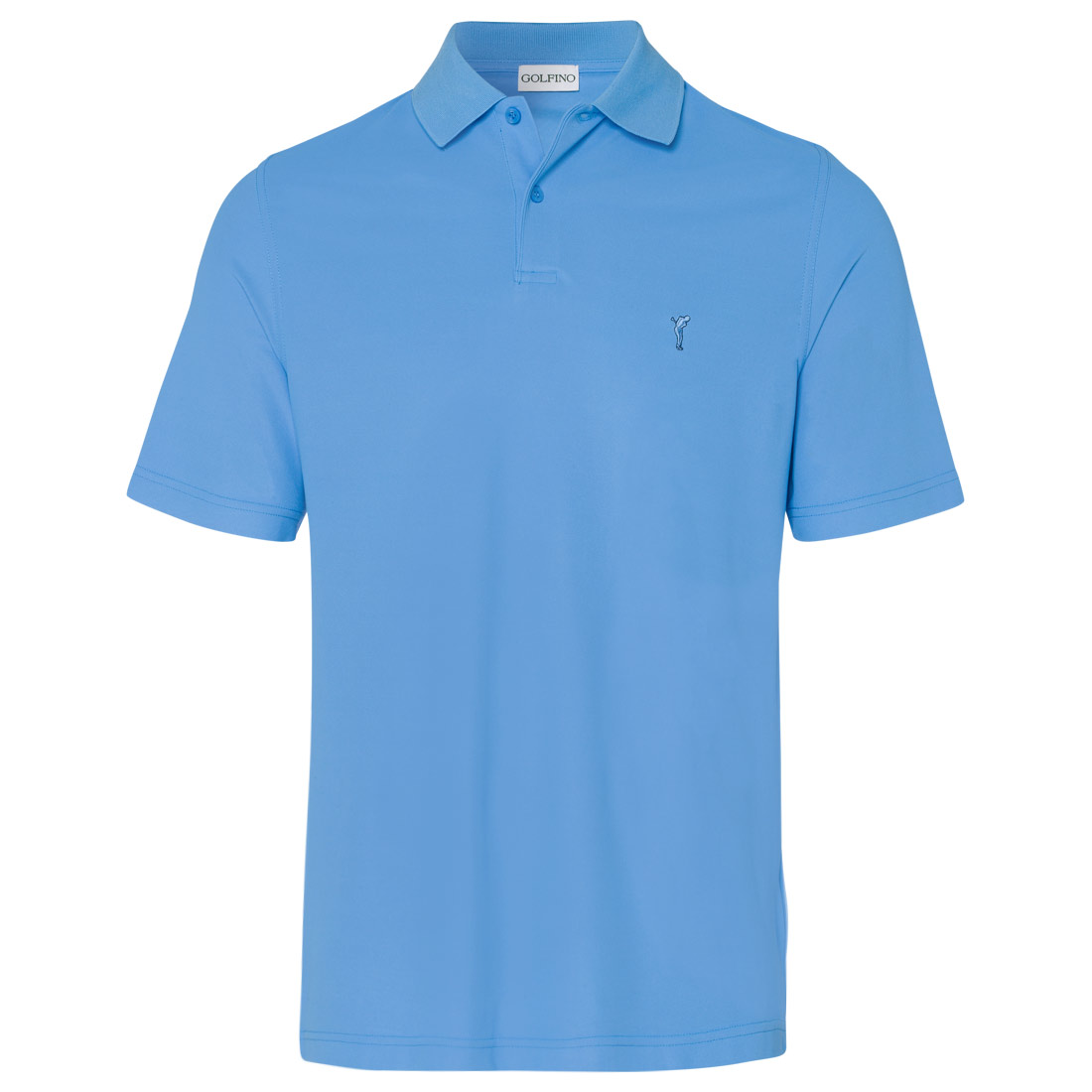 Klassisches Herren Golfpolo aus Dry Comfort Piqué