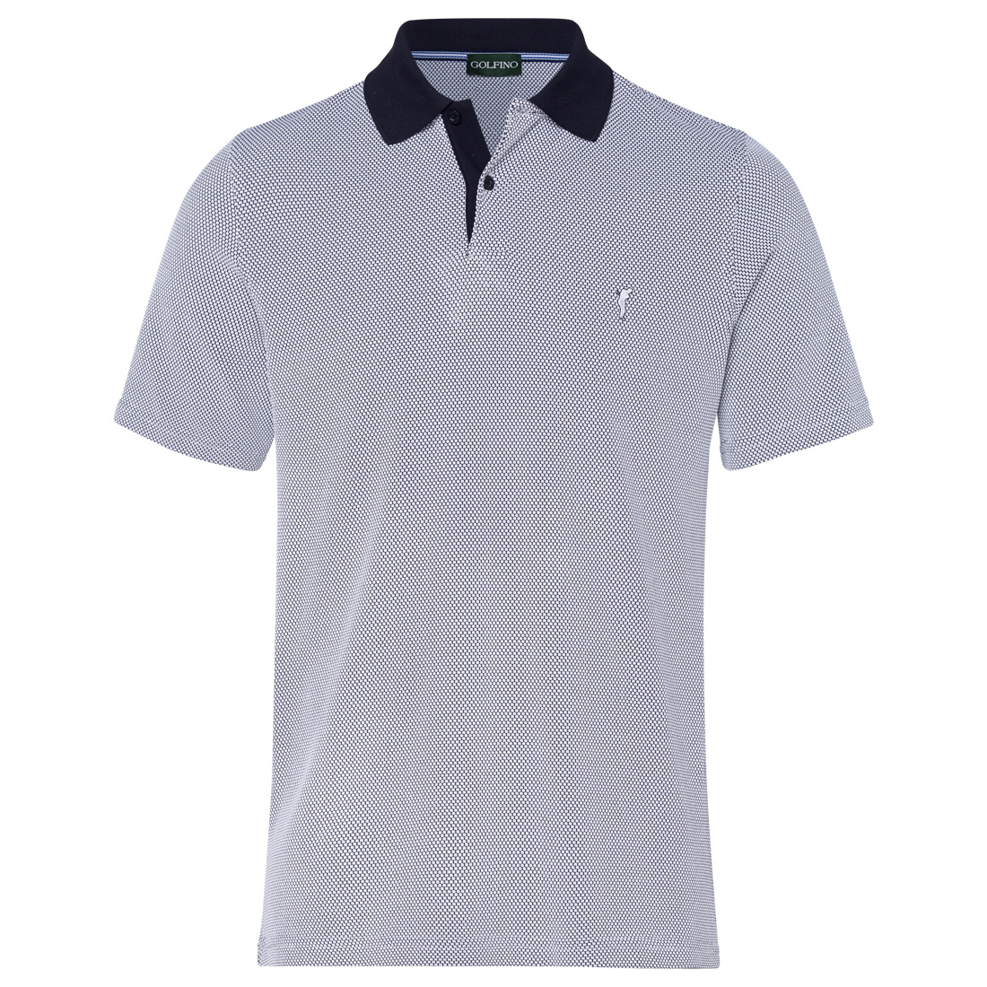 Men's polo in pleasant and breathable material