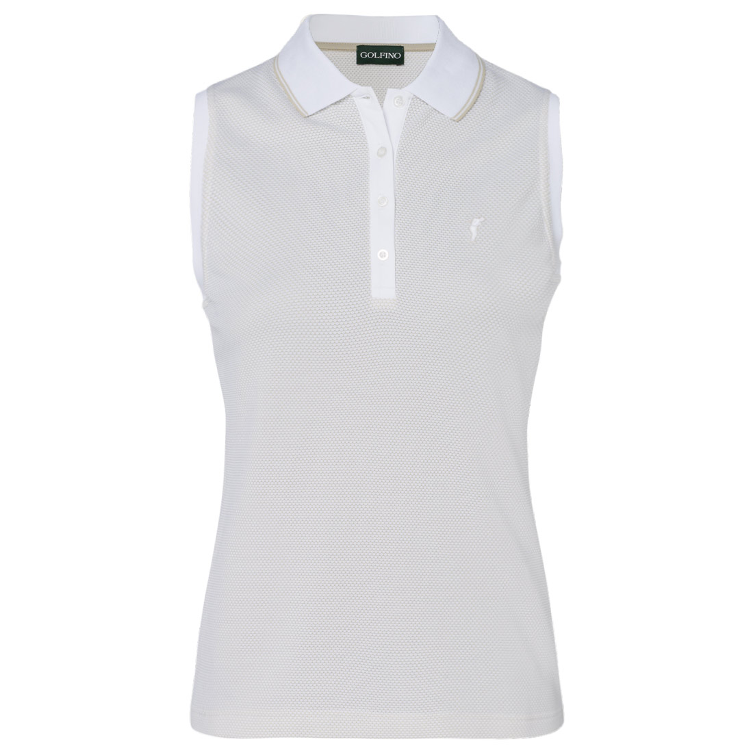 a35f2584ab0e48 GOLFINO Sleeveless ladies  golf polo light and breathable shop online