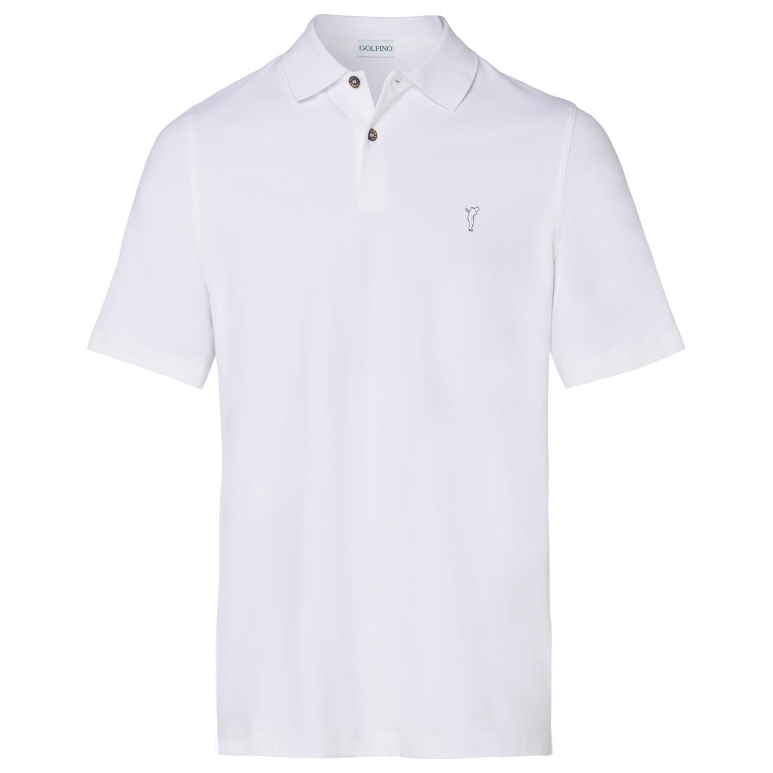 Herren kurzarm Polo mit UV Schutz