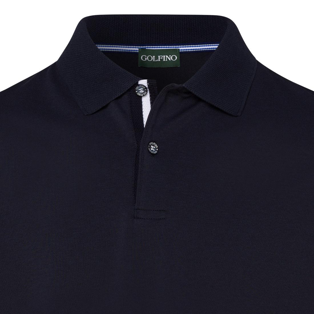 Kurzarm-Funktions-Polo für Herren