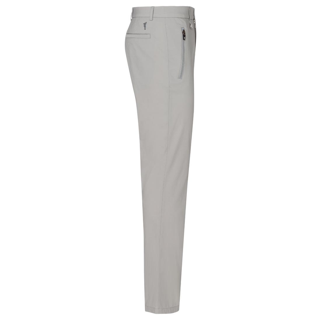 Zipped Pockets Techno Stretch Trouser