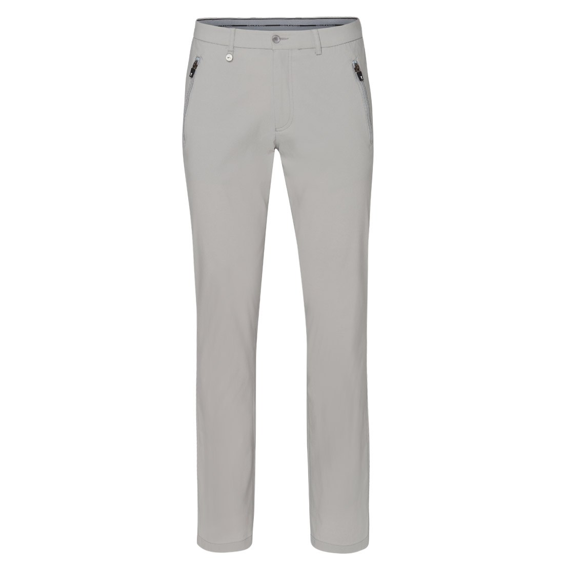 Zipped Pockets Techno Stretch Trouser