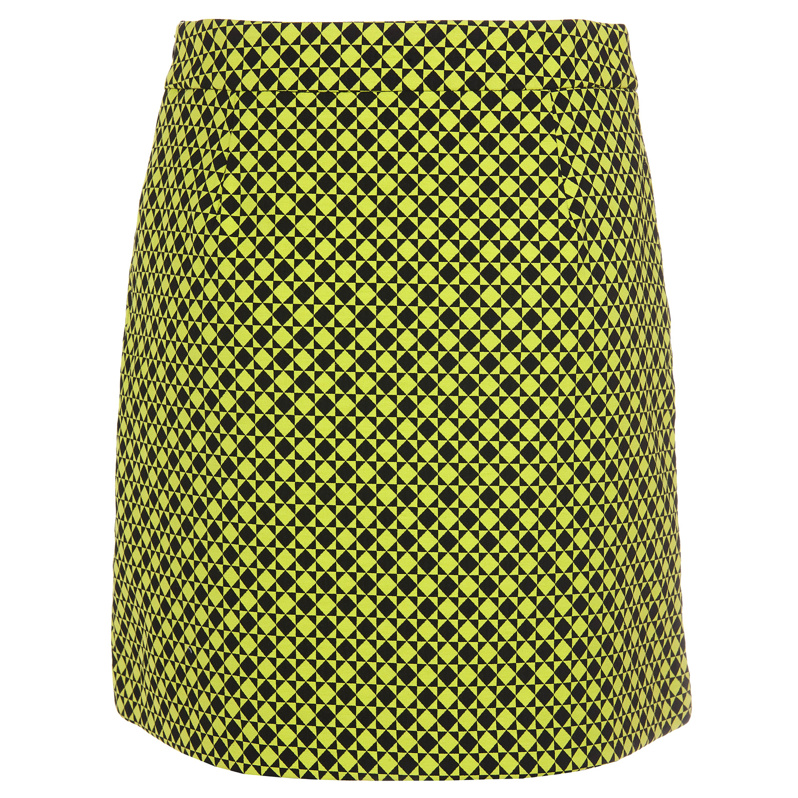 Premium Techno Stretch Golfskort in mittlerer Länge mit eingearbeiteten Shorts