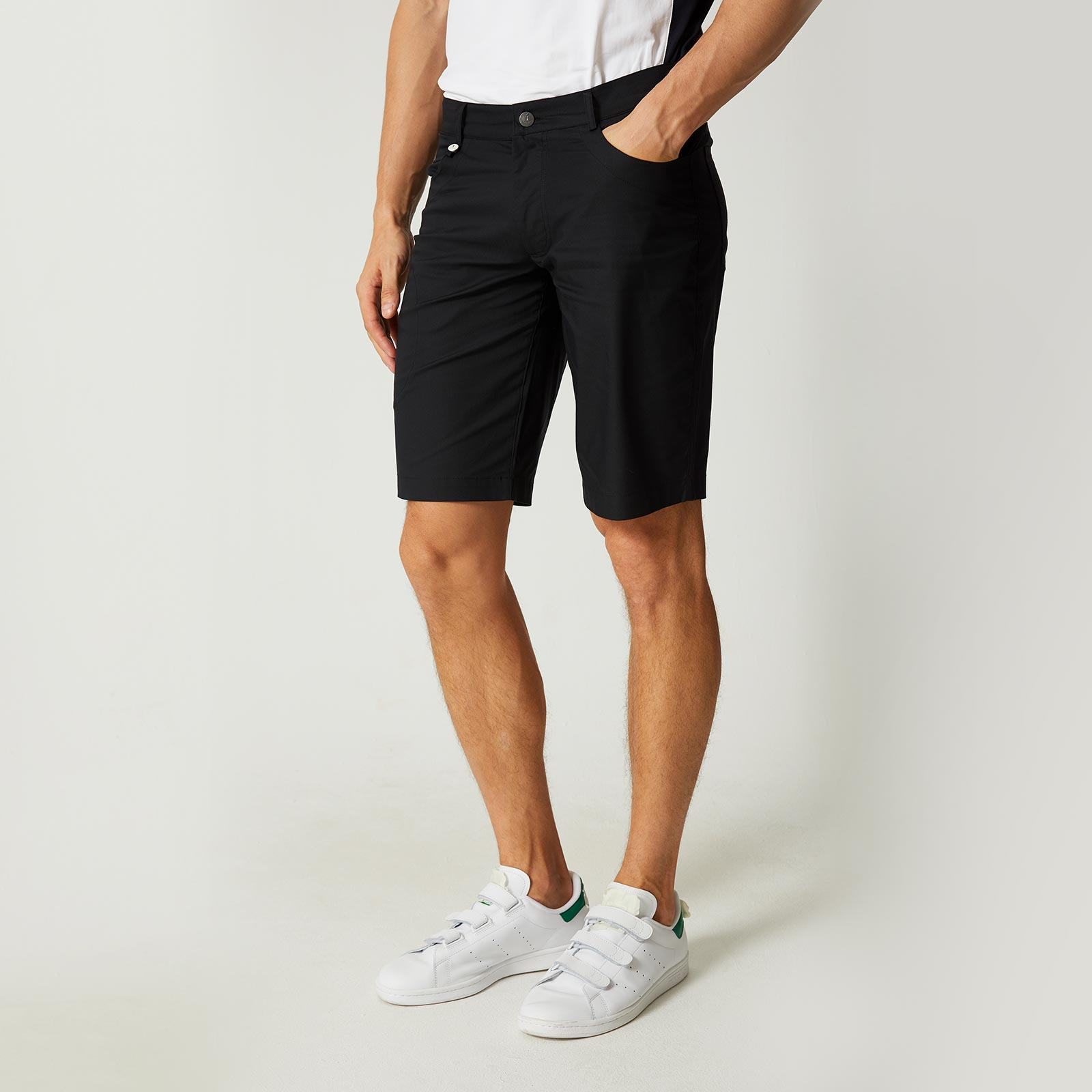 Tencel Twill Techno Stretch Bermudas