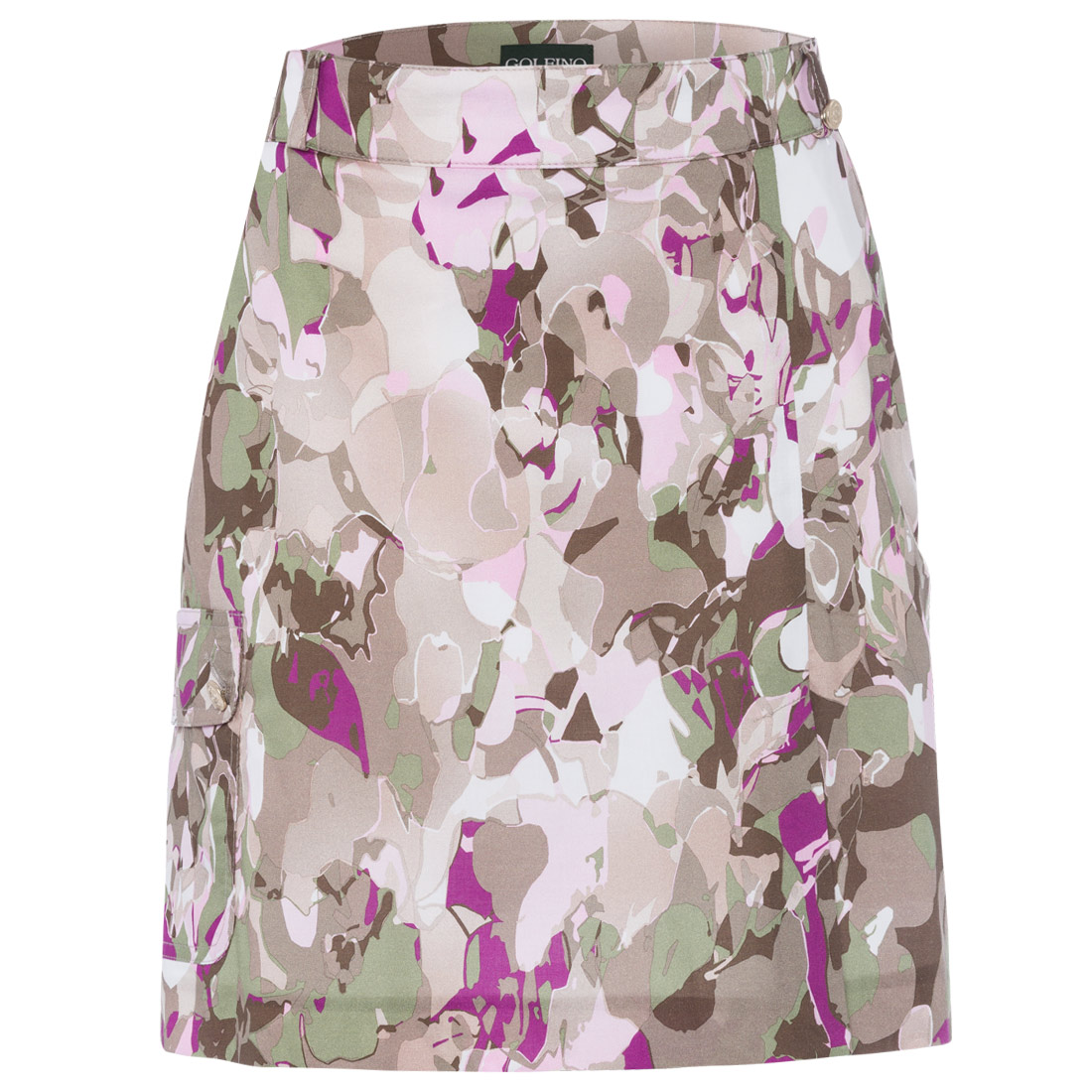 Ladies' skort with all-over print