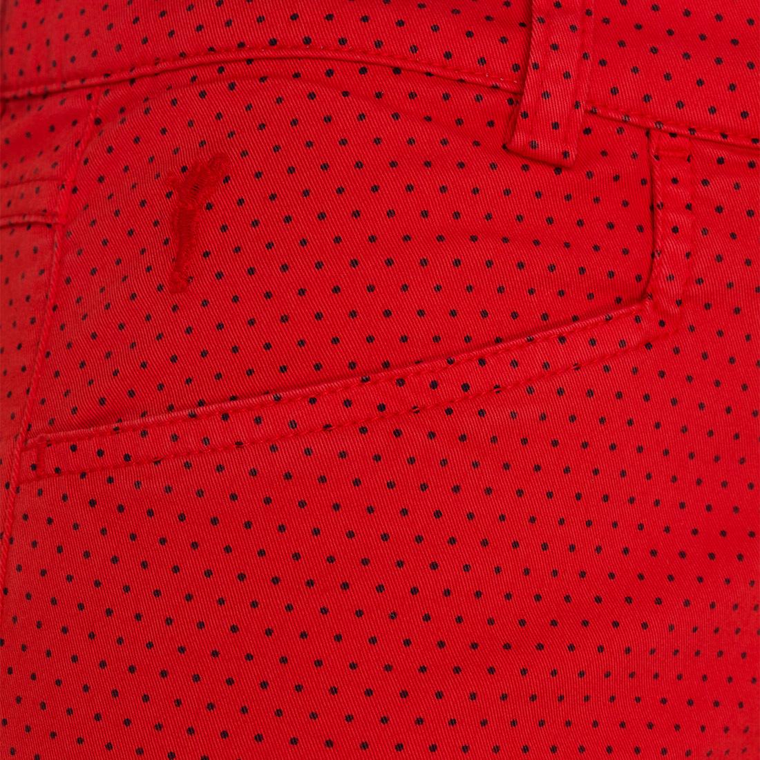 Damen Hose mit Punkteprint
