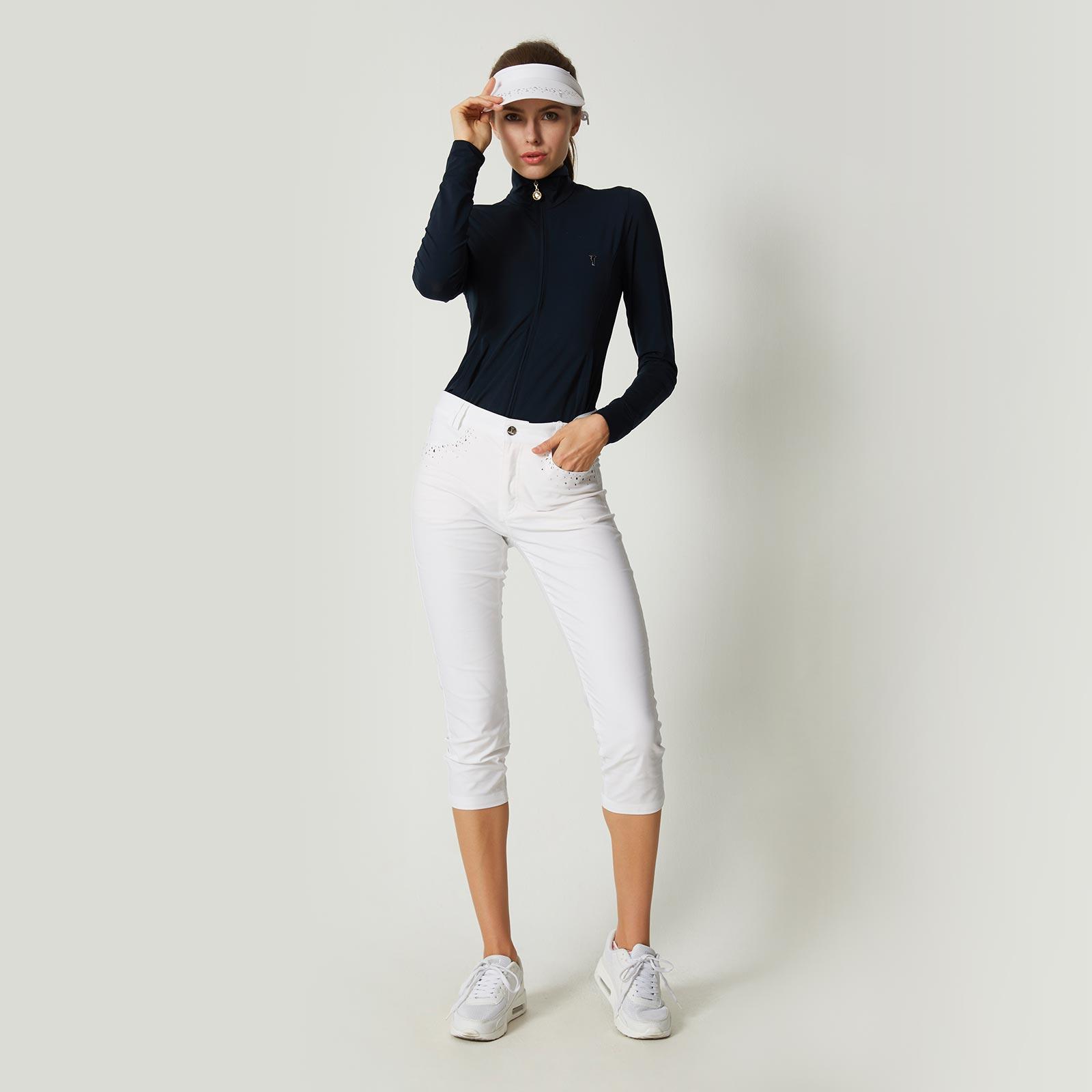 Damen Hose mit Glitzerdetails