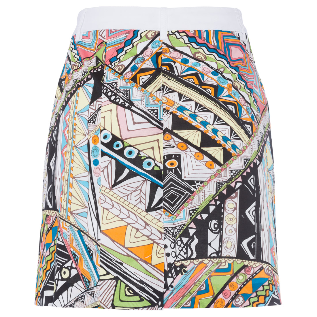 Damen Skort mit Allovermuster