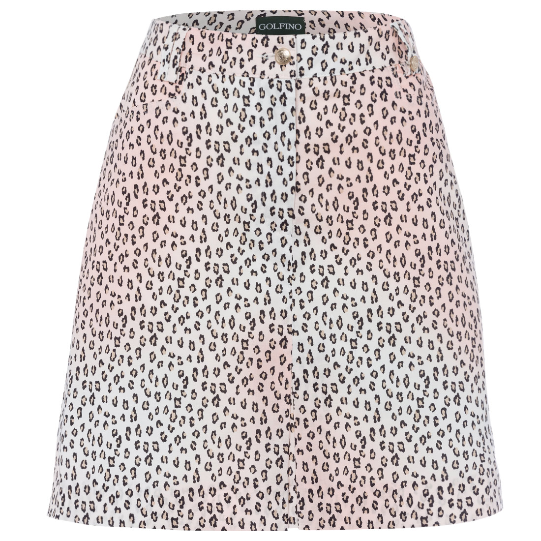 Damen Skort mit Animalprint