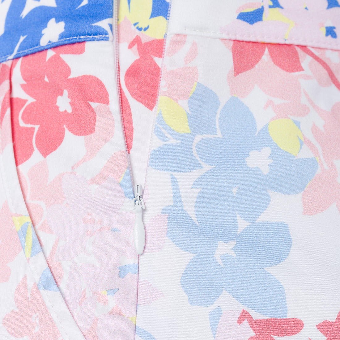 Damen Skort mit Blumenprint
