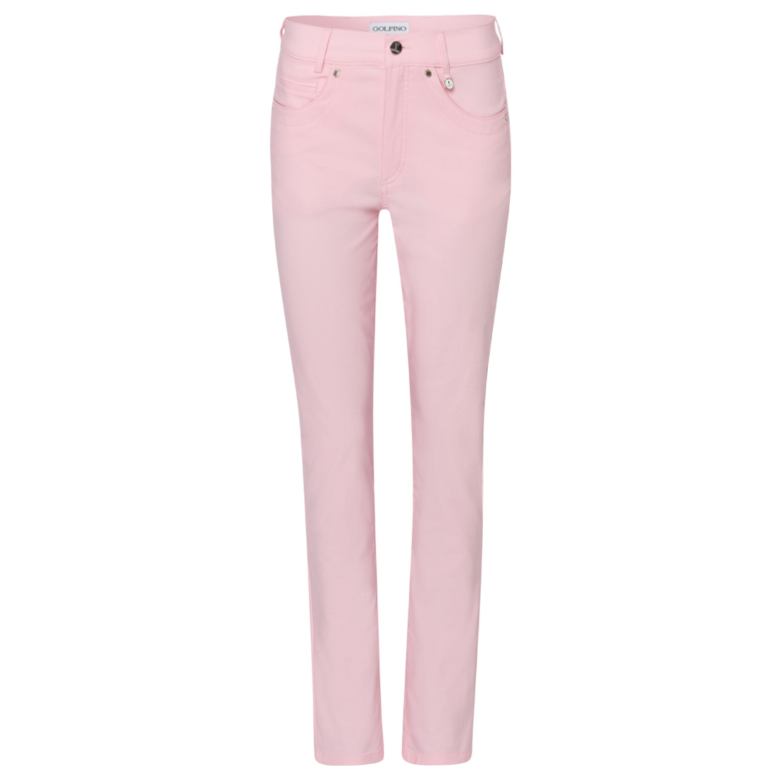 Ladies' trousers in denim look