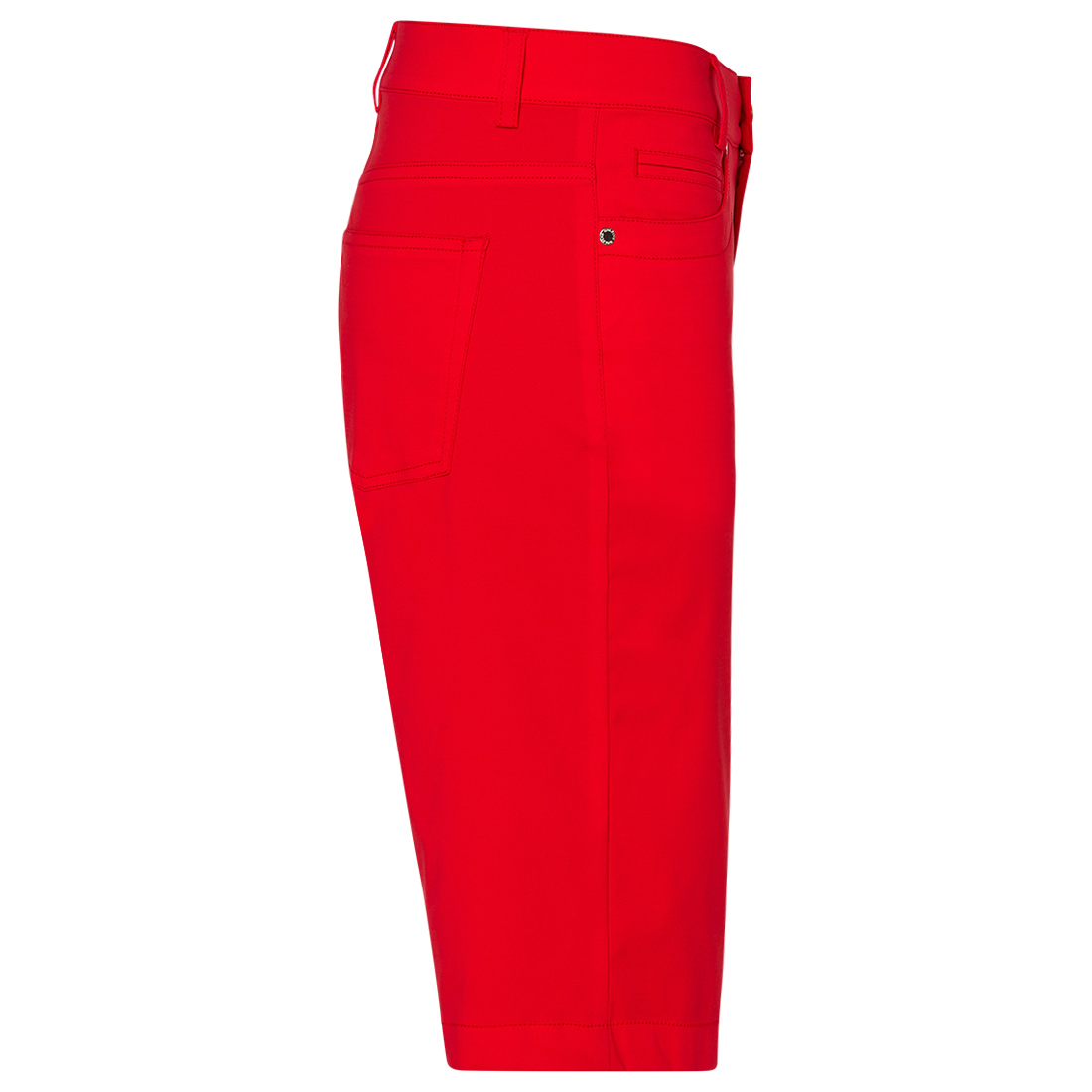 Golfbermuda 5-Pocket aus Techno Stretch mit UV-Schutz in Slim Fit