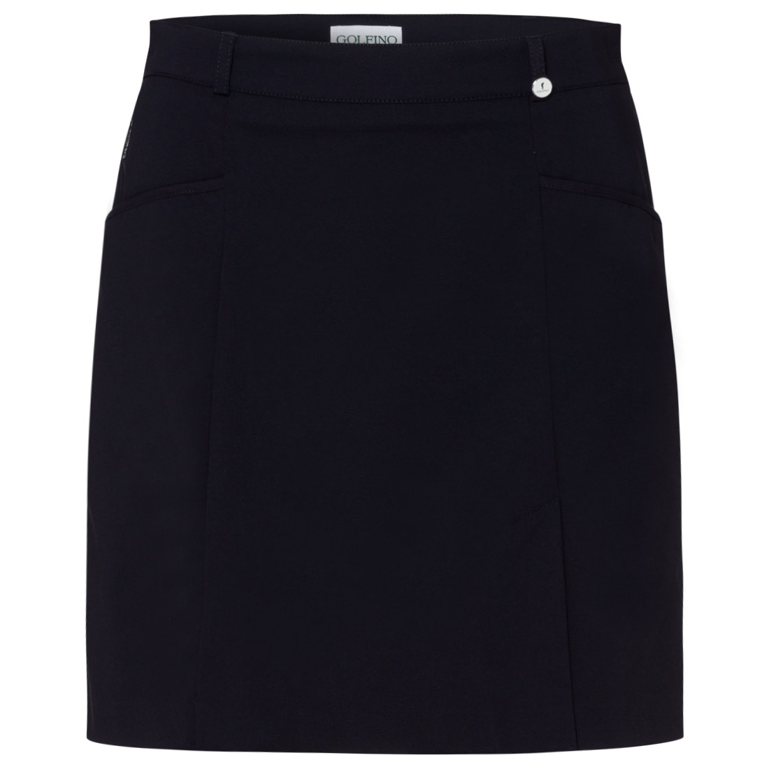 Ladies' skort in stretch fabric