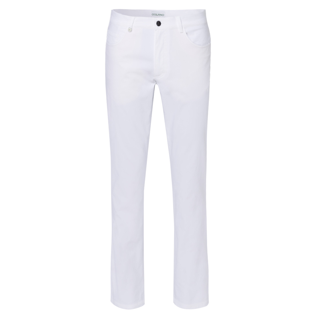5-pocket stretch performance golf trousers in slim fit with UV protection